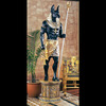 Massive Lifesize Egyptian Anubis Statue