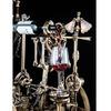 Massive Mechanical Corkscrew and Wine-Pouring Machine