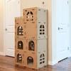Massive Medieval Cardboard Cat Castle / Scratcher