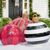 Massive Outdoor Christmas Ornaments
