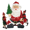 Massive Santa Claus Statue With Hand Seat