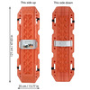 MAXSA Escaper Buddy Vehicle Traction Mats For Snow, Ice, Sand, and Mud