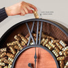 Mesh Wine Cork Catcher Wall Clock