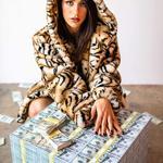 Million Dollar Pallet of Money Table