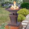 Mini Gas Fire Pit Pedestal