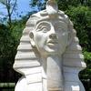 Miniature Great Sphinx Statue