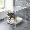 Minimalist Acrylic Cat Litter Box Cover