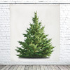 Minimalist Wall-Hanging Christmas Tree Tapestry