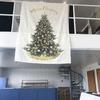 Minimalist Wall-Hanging Christmas Tree Tapestry