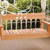 Musical Xylophone Porch Swing