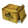 Natural Fatwood Fire Starters in a Rustic Wooden Crate