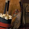 Ocean Liner Steamship Funnel Waste Basket