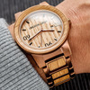 Original Grain Wooden Whiskey Barrel Watch