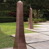 Outdoor Obelisk Torches