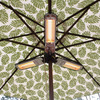 Patio Umbrella Electric Heater