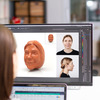 Personalized 3D Face Chocolate Egg