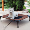 Pet Lounger With Sun-Shielding Canopy