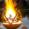 Phoenix Rising Fire Pit Sphere