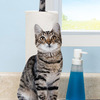 Photorealistic Cat Toilet Paper / Paper Towel Holder