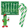 Dill Pickle Flavored Candy Canes