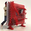 PinPres Shelf - Giant Interactive Pin Press Storage Shelf