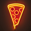 Pizza Slice Neon Sign