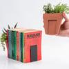 Plant Pot Living Bookends