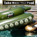 Pool Punisher - Inflatable Tank with Water Cannon