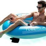 PoolCandy Tube Runner - Motorized Pool Float