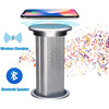 Pop-Up Socket - Recessed Power Outlet w/ Wireless Charging and Bluetooth Speaker