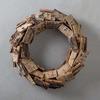 Poplar Bark Wreath