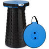 Portable Telescoping Stool w/ Built-In Mobile Charger