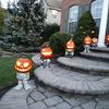 Pumpkin People - Whimsical Halloween Pumpkin Stands