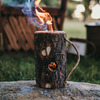Quick-Lighting Campfire Log Torches