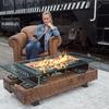 Rail Yard Studios Fire Pit w/ Sound-Reactive Flames