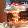 Realistic Nuclear Explosion Mushroom Cloud Light
