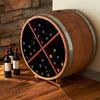 Reclaimed Half Barrel Wine Rack