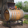 Reclaimed Wine Barrel Ice Chest with Stand