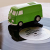 Record Runner - VW Bus Portable Self-Contained Vinyl Record Player