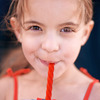 Red Licorice Twist Reusable Silicone Straws