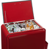 Retro Red Rolling Drink Cooler