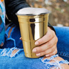 Reusable Gold Party Cup