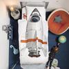Rocket Ship Duvet and Pillowcase Set
