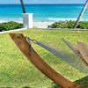 Roman Arc Cypress Hammock Stands