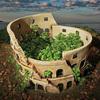 Roman Colosseum Planter