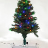 Roof-Mounted Car Christmas Tree - 3 Foot Tall, Multi-Colored LEDs, and Folds Flat