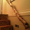 Rustic Grapevine Handrails