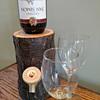 Rustic Log Wine / Liquor Dispensers