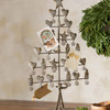 Rustic Metal Christmas Card Tree