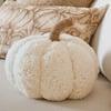 Rustic Pumpkin Pillows w/ Teddy Bear Fur Fabric